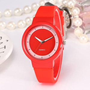 JOYFUL BLISS Women's Sports Fashion Casual Silicone Strap Round Dial Watch for Women - Divine Inspiration Styles