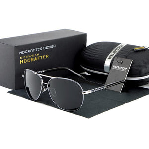 HDCRAFTER Men's Fashion Polarized Driving Sunglasses