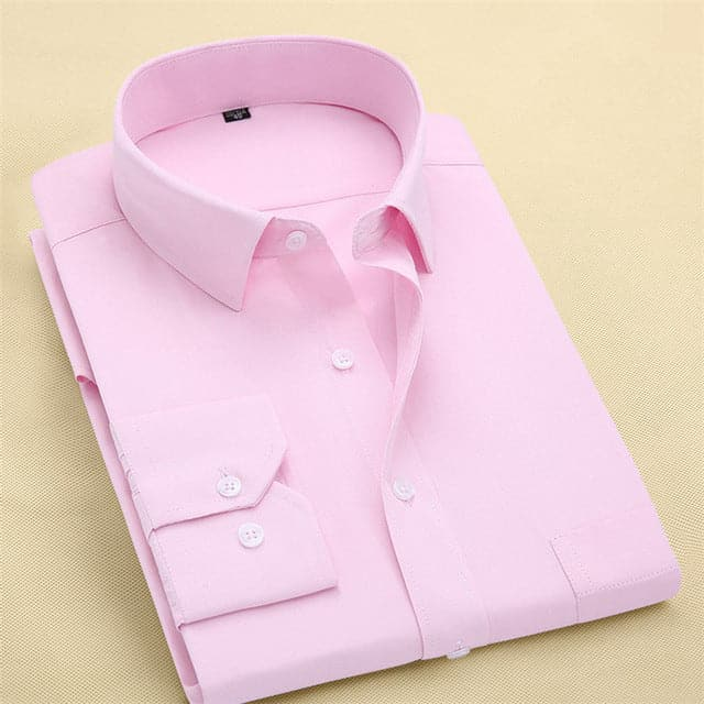 ERIDANUS Men's Long Sleeves Fashion Business Dress Shirt