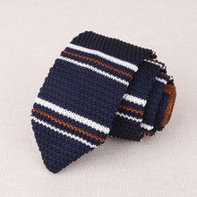MANTIEQINGWAY Men's Fashion Premium Quality Classic Knitted Stripes Neckties for Formal and Business Casual Suits - Divine Inspiration Styles