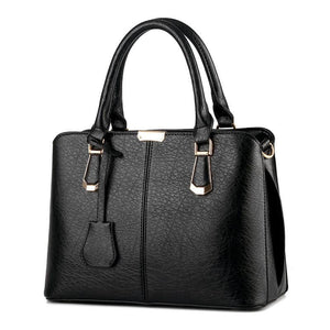 YINGPEI Luxury Genuine Pebble Leather Crossbody Shoulder Handbag