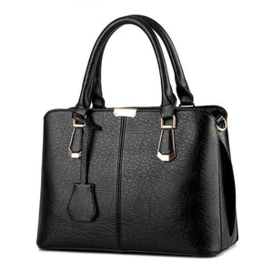 YGP-PROFESSIONAL Women's Fashion Genuine Pebble Leather Handbag - Divine Inspiration Styles