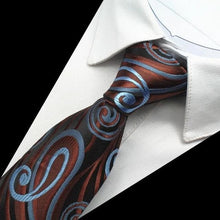 GUSLESON Men's Fashion Paisley Silk Neck Ties for Formal and Casual Business Events
