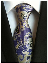 SHEN Design Collection Men's Fashion 100% Premium Quality Fully Woven Jacquard Silk Ties - Divine Inspiration Styles