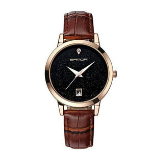 SANDA Women's Luxury Fashion Leather Watch - Divine Inspiration Styles