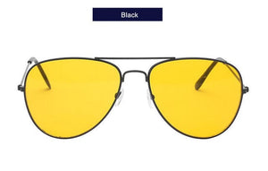 UVLAIK Pilot Aviator Night Vision Sunglasses for Men and Women