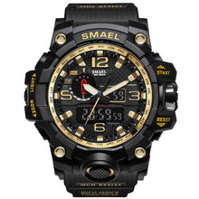 SMAEL Men's Fashion Military Watch 50m Waterproof LED Quartz Movement Sport Watch - Divine Inspiration Styles
