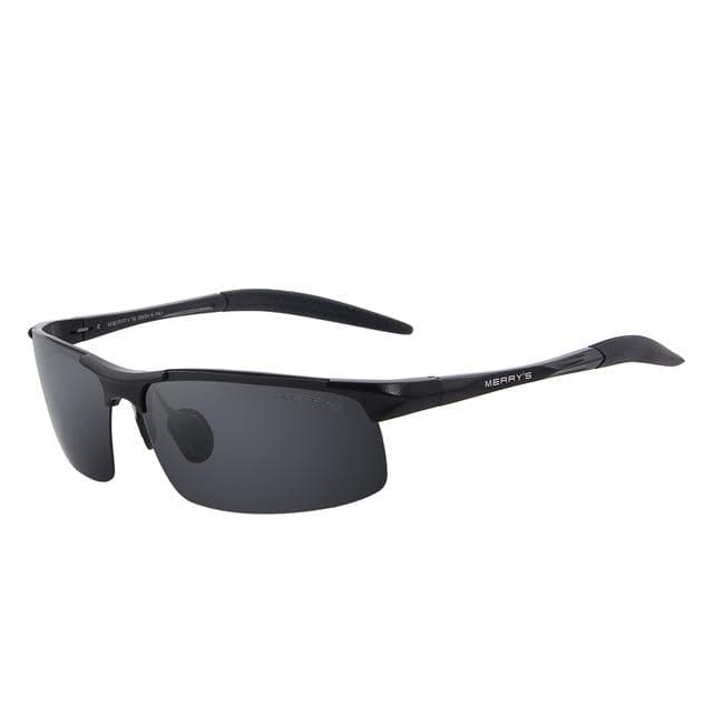 MERRY'S Men's Polarized Aviation Rimless Shades Sunglasses
