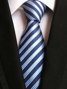 BENTLEY Men's Fashion Premium Quality 100% Silk Formal Stripes Designer Neckties for Business Suits - Divine Inspiration Styles