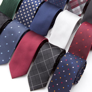 Assorted Men's Classic Regular Everyday Skinny Ties and Formal Business Neck Ties
