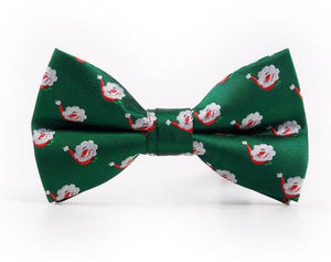 ASSORTED BENTLEY Men's Fashion Premium Quality Classic Pattern Designs Christmas Bow Ties - Divine Inspiration Styles