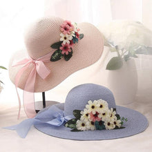 OZYC Women's Fine Fashion Exquisite Floral Straw Hat for Women - Divine Inspiration Styles