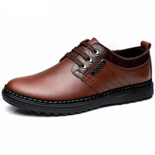ZJN Men's Fashion Formal & Business Casual Genuine Leather Dress Shoes - Divine Inspiration Styles