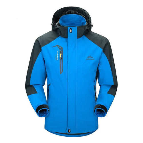 DIMUSI Men's Sports Casual Windproof and Waterproof Thick Parka Winter Jacket
