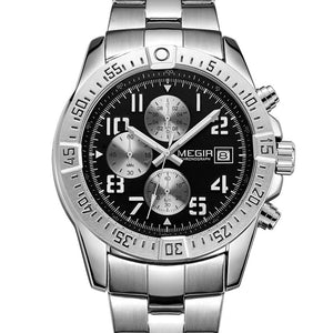 MEGIR Men's Business & Luxury Fashion Premium Quality Chronograph Watch - Divine Inspiration Styles