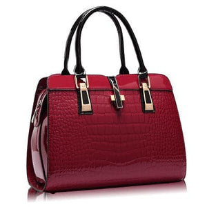 ETALOOK-PROFESSIONAL Women's Fashion Genuine Leather Embossed Designer Handbag - Divine Inspiration Styles