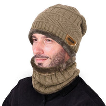 VBIGER Men's Winter Knitted Wool Cap & Infinity Scarf - Divine Inspiration Styles