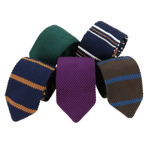 MANTIEQINGWAY Men's Fashion Premium Quality Classic Knitted Ties - Divine Inspiration Styles