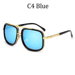 DPZ Men's & Women's Retro Style Fine Fashion Square Luxury Sunglasses - Divine Inspiration Styles