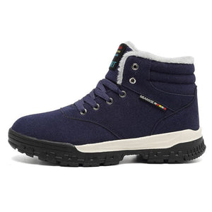 WILLERMONS Men's Genuine Suede Leather Sneaker Boot Shoes