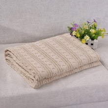 EGHOMES Men's & Women's High Quality 100% Cotton Soft Knitted Blanket & Throw - Divine Inspiration Styles