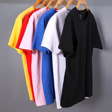 VARSANOL Men's Quality T-Shirts Short Sleeve Vivid Solid Color Cotton T-Shirts Spring Summer Autumn T-Shirts - Divine Inspiration Styles