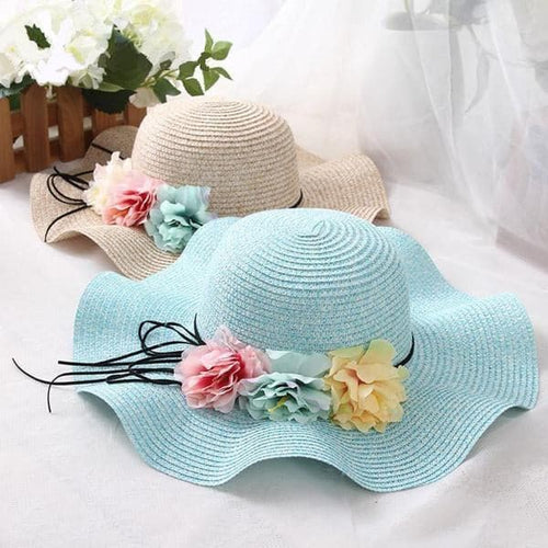 DOITBEST Women's Fine Fashion Spring Summer Autumn Flower Straw Hat - Divine Inspiration Styles