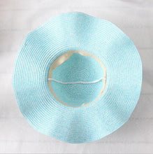 DOITBEST Brand Women's Fine Fashion Spring Summer Flower Straw Hat for Vacation Beach Wedding Floral Sun Hat - Divine Inspiration Styles