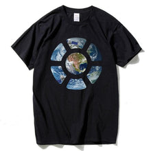 HANHENT Men's & Women's Specialty T-Shirt of Earth Seen from Space - Divine Inspiration Styles