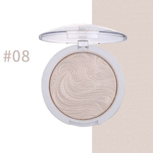 MISS ROSE Women's Highlighter Bronzer Brightener 12-Colors Cosmetic Concealer Powder - Divine Inspiration Styles