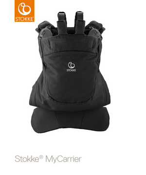 Stokke MyCarrier Back Black Mesh