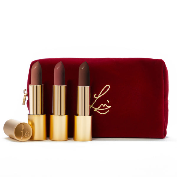 The New Velvet Collection (Velvet Fawn, Muse and Decade in a velvet bag)