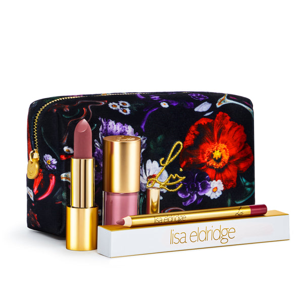 Velvet Beauty Kit (Fantasy Florals Lip Kit)