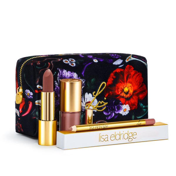 Velvet Muse Kit (Fantasy Florals Lip Kit)