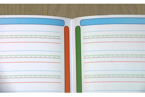 cahier 3mm A4 dyspraxique