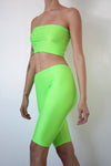 Lumo Green Shorts Set