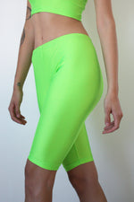 Lumo Green Cycling Shorts