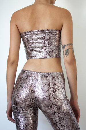 Metallic Shorts Set
