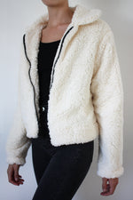 Cream Teddy Jacket