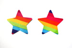 Rainbow Star & Heart Nipple Covers