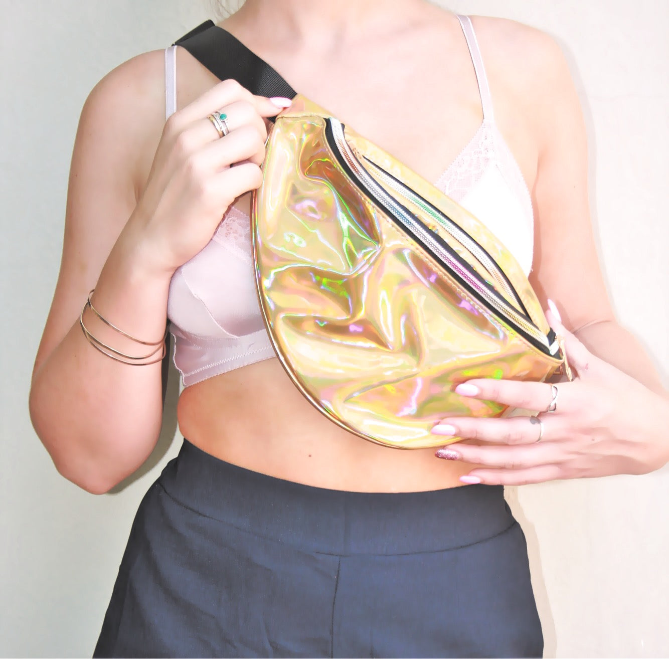 Gold Large Bum Bag