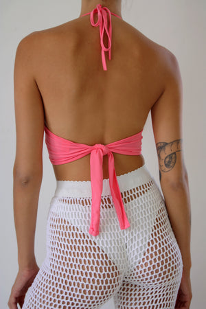 Pink Ring Crop Top