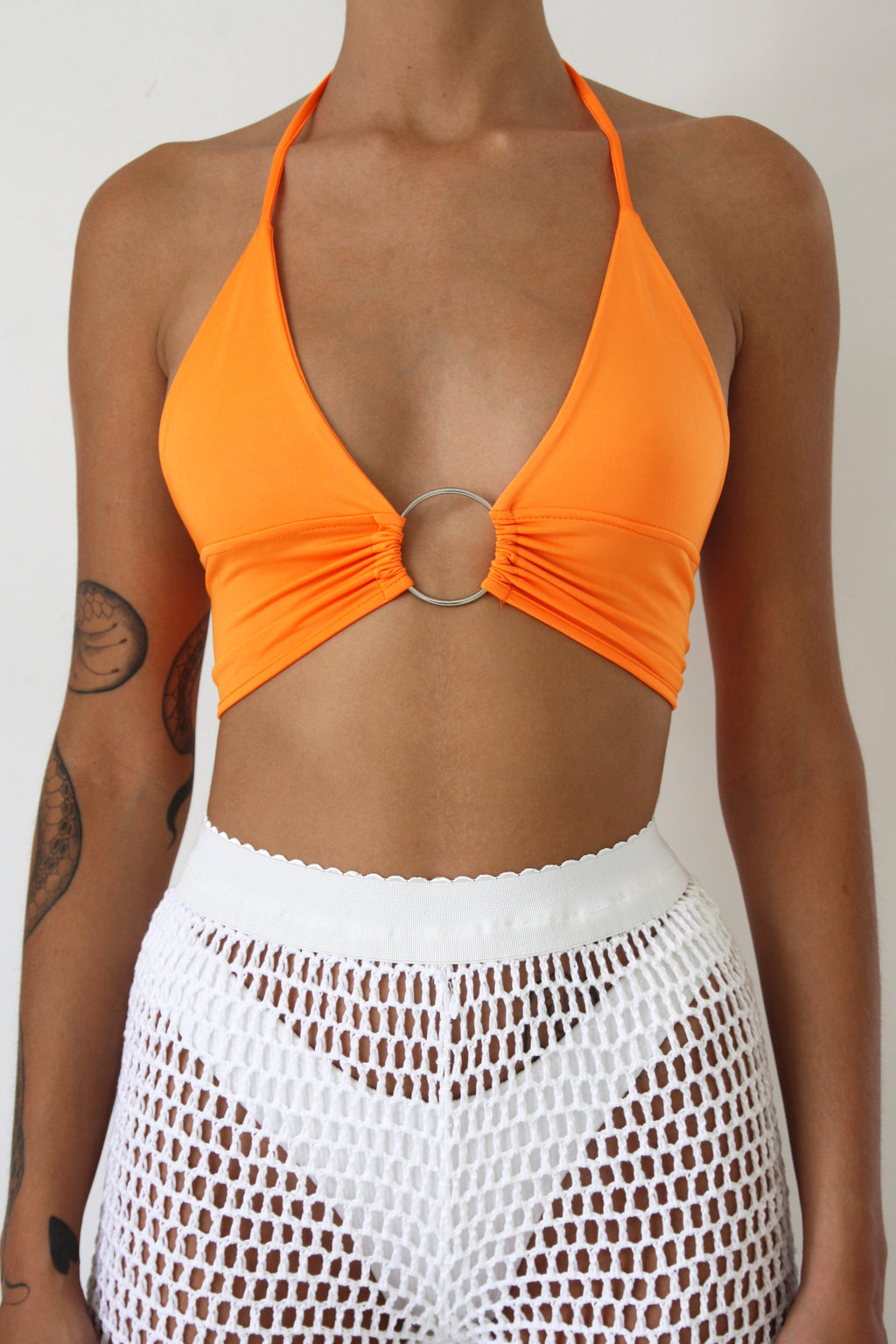 Orange Ring Crop top
