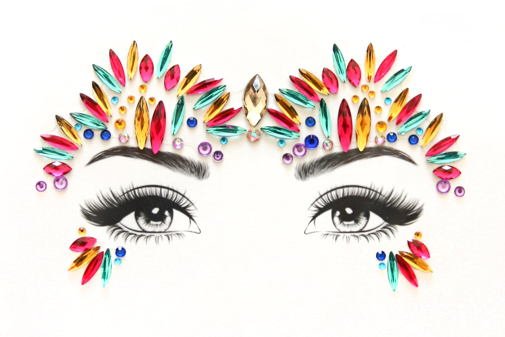 Fiesta Face Jewels