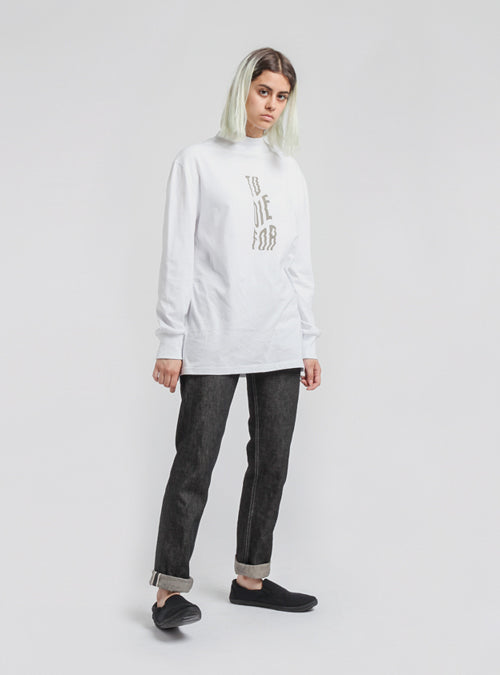 I AND ME - To Die For Long Sleeve Tee - White