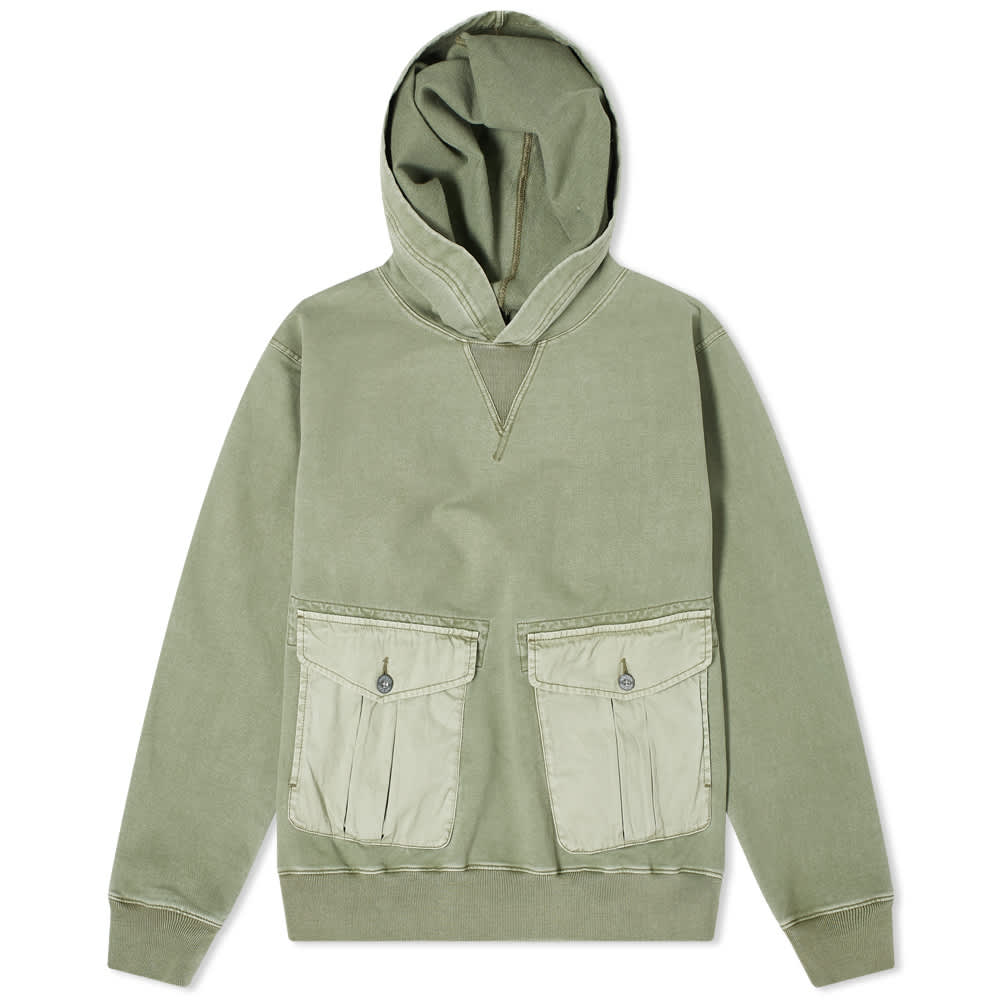Pit Hoody US Army Green