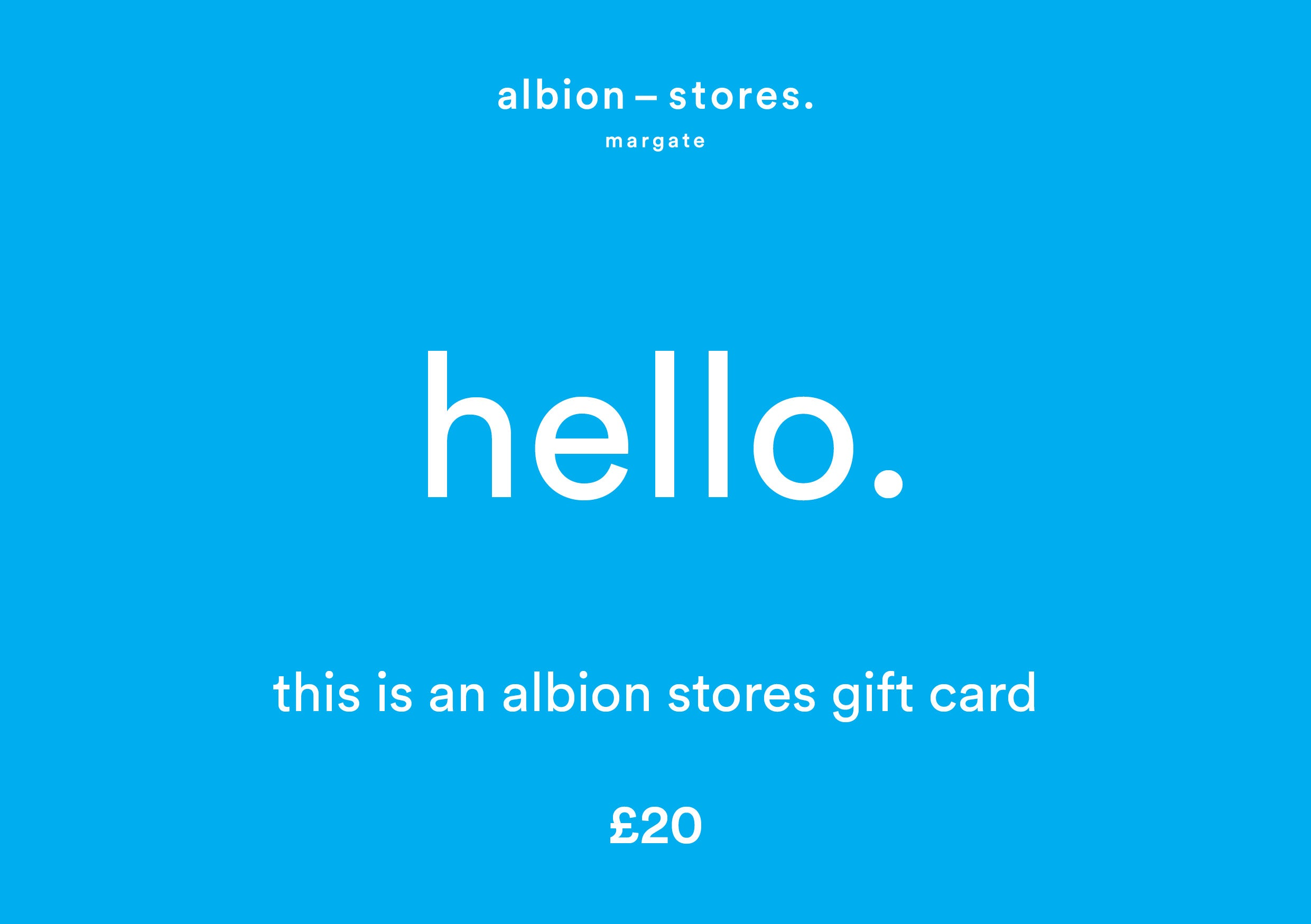 Albion Stores Gift Card