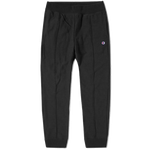 Champion Reverse Weave Cuffed Black Track Pants