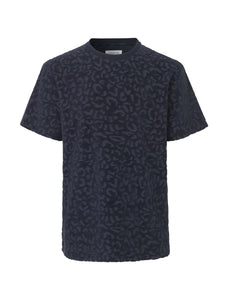 Cut Out Navy Tee