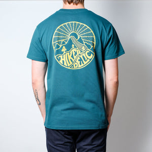 Hikerdelic Core Short Sleeve Bottle Green Tee
